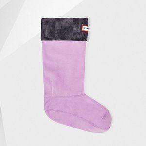 HUNTER ORIGINAL Tall BOOT SOCKS Bright Lavender